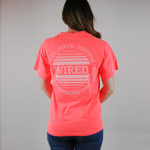 Circle Fade Short Sleeve Tee