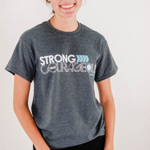 Strong and Courageous Camp Tee