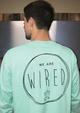 We Are Wired Circle Arrow Long Sleeve Tee