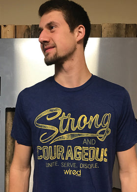 2017 Strong and Courageous Tee