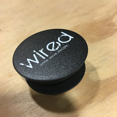 Wired Ministries Pop Socket