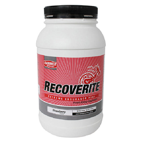 Hammer Nutrition Recoverite - Strawberry - 1.57 kg Tub