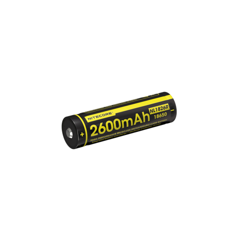 Nitecore Battery 18650 USB Rechargeable (2600mAh)