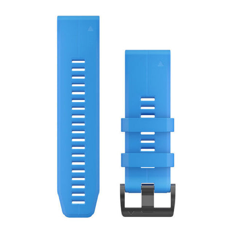Garmin QuickFit 26 - Cyan Blue Silicone Replacement Band