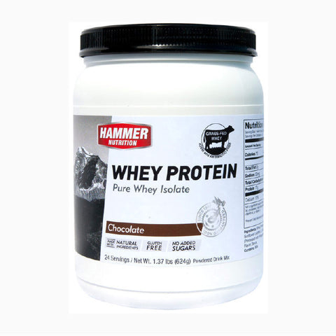 Hammer Nutrition Whey Protein - Chocolate - 624 g Tub