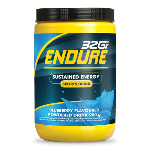 32Gi Endure Sports Drink - Blueberry - 900 g Tub