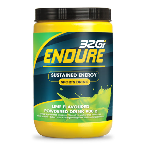 32Gi Endure Sports Drink - Lime - 900 g Tub