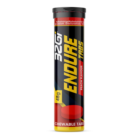 32Gi Endure Tabs - Peach - Box of 10 (48 g Tubes)