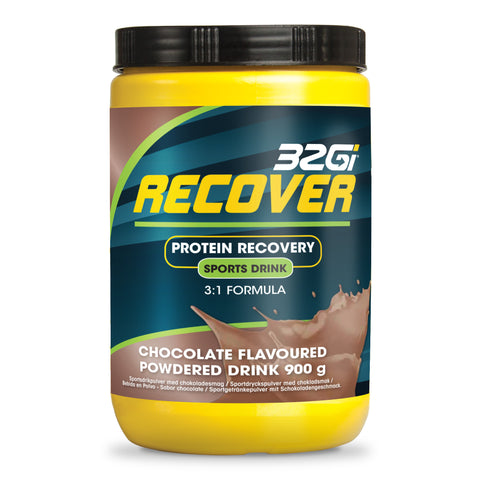 32Gi Recover Sports Drink - Chocolate - 900 g Tub