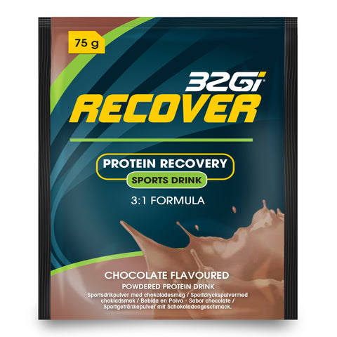 32Gi Recover Sports Drink - Chocolate - Box of 15 (75 g Sachets)