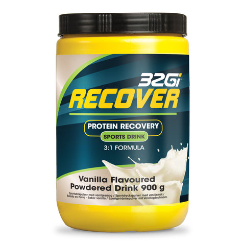 32Gi Recover Sports Drink - Vanilla - 900 g Tub