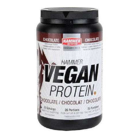 Hammer Nutrition Vegan Protein - Chocolate - 768 g Tub