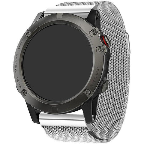 Watch Band - Milanese Loop suits Garmin clip-on 26mm