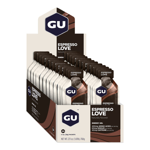 GU Energy Gel - Espresso Love - Box of 24