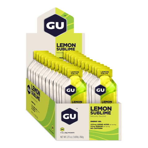 GU Energy Gel - Lemon Sublime - Box of 24