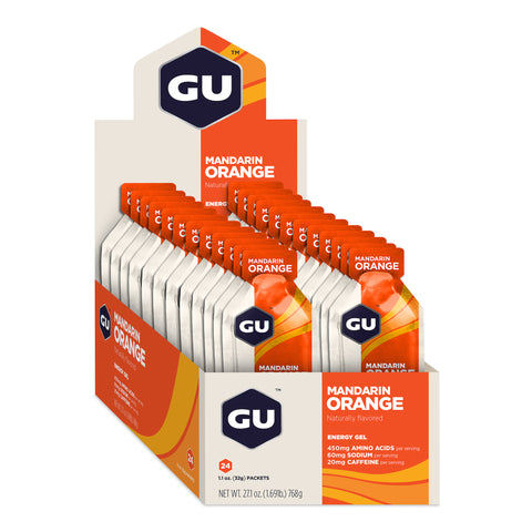 GU Energy Gel - Mandarin Orange - Box of 24