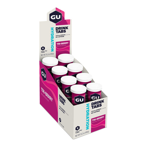 GU Hydration Drink Tabs - Tri-Berry - Box of 8