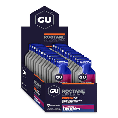 GU Roctane Energy Gel - Blueberry Pomegranate - Box of 24