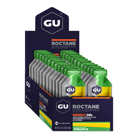 GU Roctane Energy Gel - Pineapple - Box of 24
