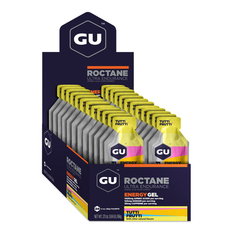 GU Roctane Energy Gel - Tutti Frutti - Box of 24