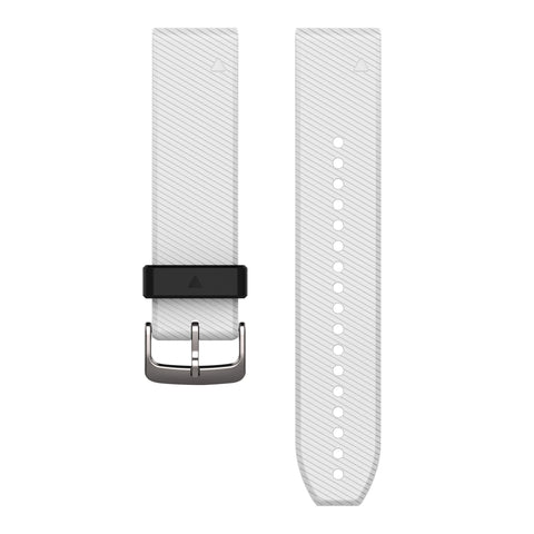 Garmin QuickFit 22 - White Silicone Band