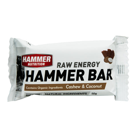 Hammer Nutrition Hammer Bars - Cashew & Coconut - Box of 12