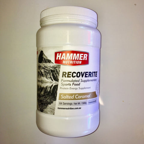 Hammer Nutrition Recoverite - Salted Caramel - 1.57 kg Tub
