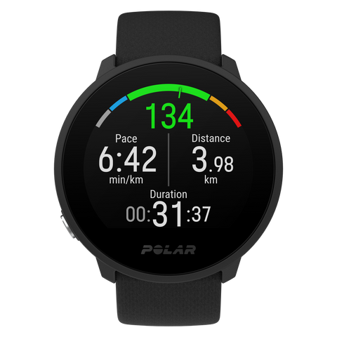Polar Unite Fitness Watch - Black (Small / Large)
