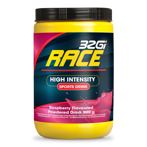32Gi Endure Race Drink - Raspberry - 900 g Tub