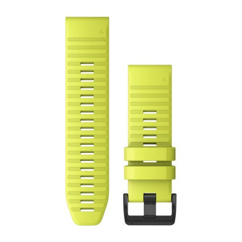 Garmin QuickFit 26 - Amp Yellow Silicone Band 2