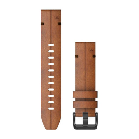 Garmin QuickFit 22 - Chestnut Leather Band
