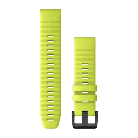 Garmin QuickFit 22 - Amp Yellow Silicone Band 2