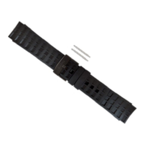 Suunto Elementum Terra - Black Rubber Replacement Band