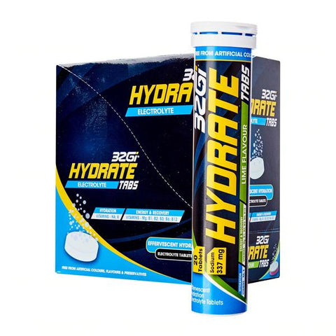 32Gi Hydrate Tabs - Lime - Box of 8 Tubes