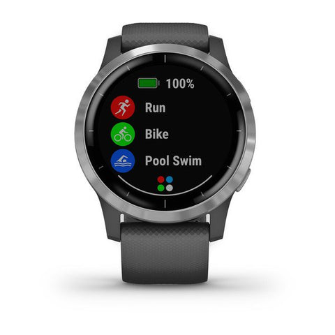 Garmin vivoactive 4 - Shadow Gray / Silver