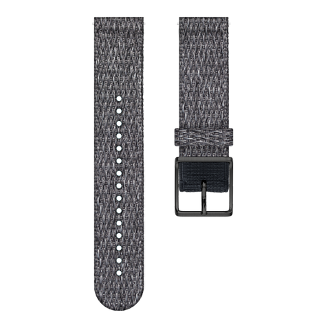 Polar Ignite Woven Wristband - Black melange