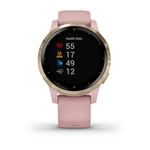 Garmin vivoactive 4S - Dust Rose / Light Gold