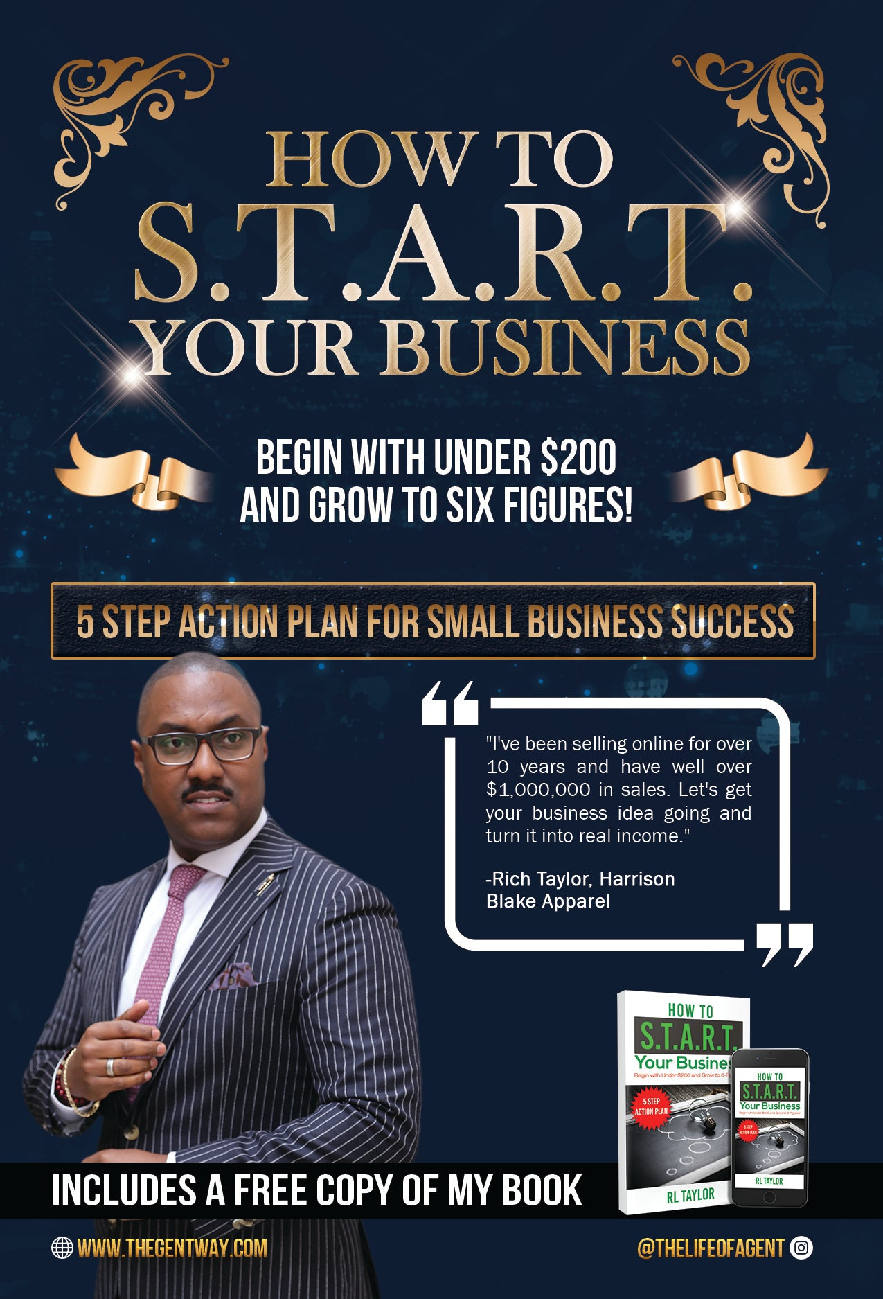 S.T.A.R.T. Your Business Online Course and 4 Coaching Sessions