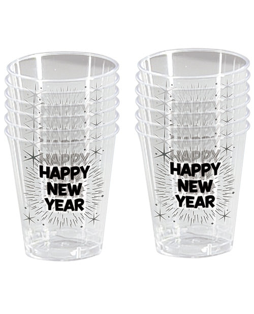 Happy New Year Shot Glasses - Pack Of 12