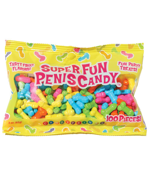 Super Fun Penis Candy - 100 Pcs Per 3 Oz Bag