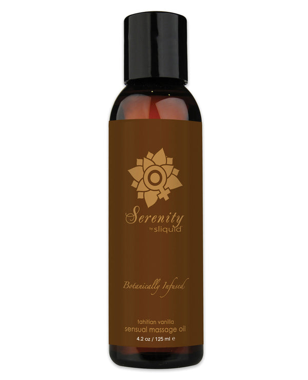 Sliquid Organics Massage Oil - 4.2 Oz Serenity