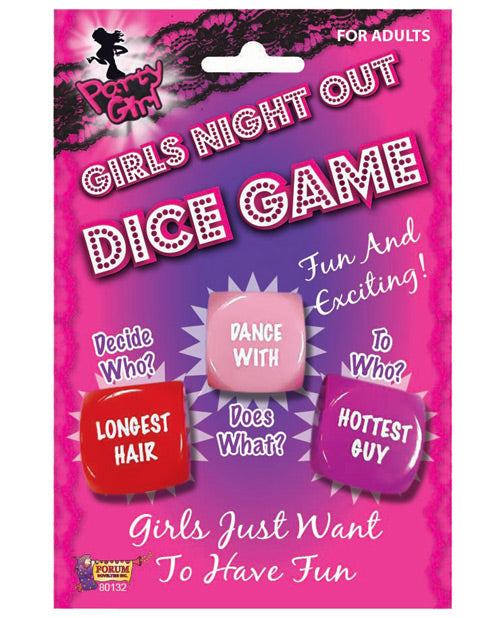 Bachelorette Girls Night Out Dice Game
