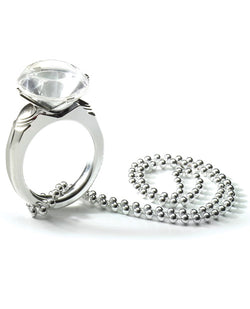 Bachelorette Outta Control Jumbo Diamond Ring Beads
