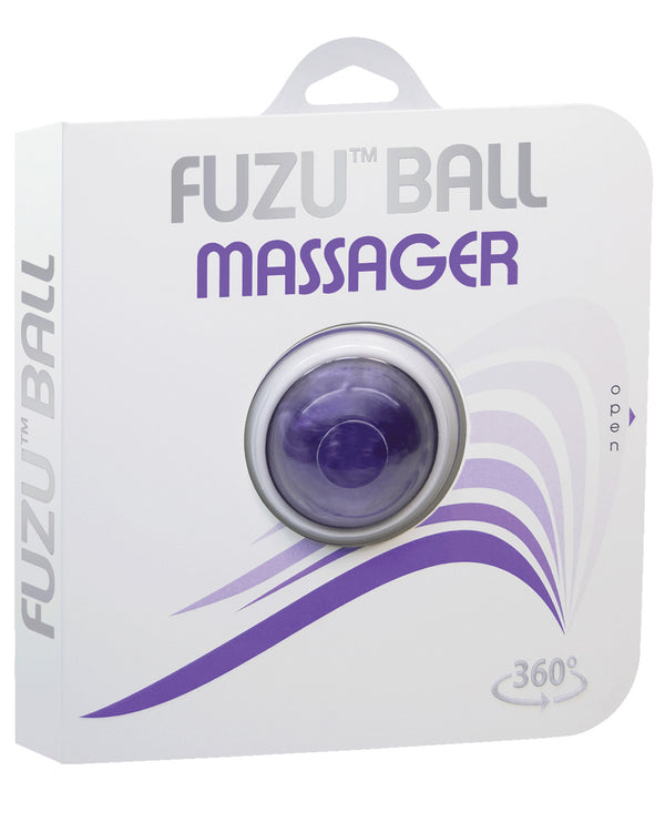 Fuzu Massage Ball - Neon Purple