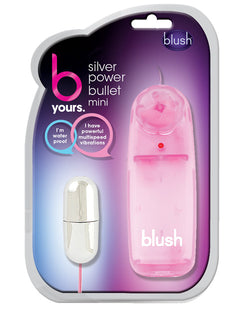 Blush B Yours Silver Bullet Mini - Pink Controller