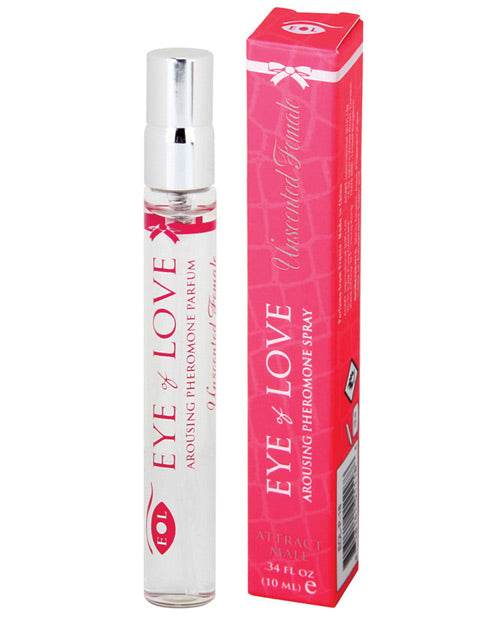 Eye Of Love Unscented Female Arousing Pheromone Parfum - 10 Ml