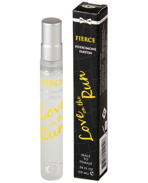 Love On The Run Pheromone Body Spray Male - 10 Ml Fierce