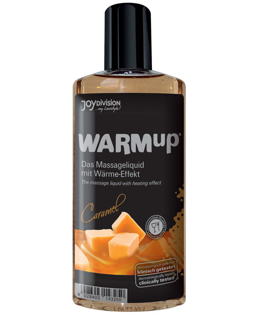 Joydivision Warmup Massage Oil - 150 Ml Caramel