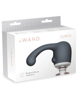 Le Wand Curve Weighted Silicone Attachment