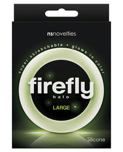 Firefly Halo Large Cockring - Clear